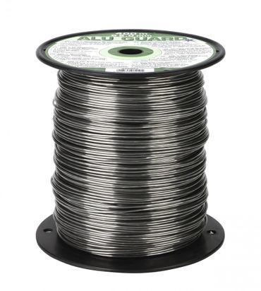 400 m Aluminium Weidezaundraht 2,0 mm Elektrozaun Bruchlast 90 kg