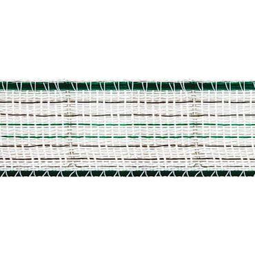 200 m Weidezaunband 38 mm breit Weiss-Grün Weidezaun Elektrozaun – Bild 2