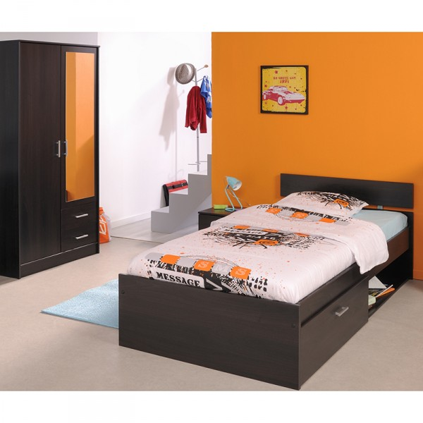 kinderzimmer infinity parisot 3 teilig kaffeebraun kinder jugendzimmer. Black Bedroom Furniture Sets. Home Design Ideas