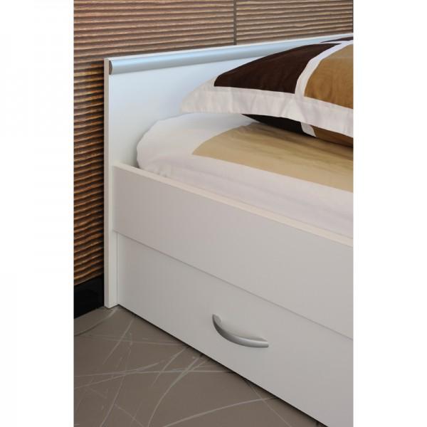 Funktionsbett Alawis 140*200 cm Weiß