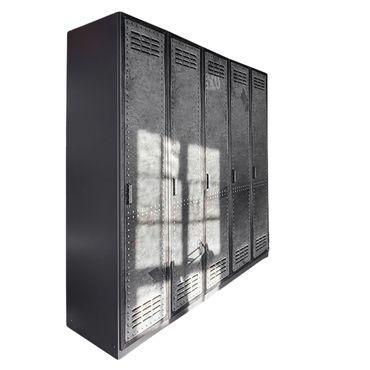 Kleiderschrank Silva Industrial Optik B 225 cm