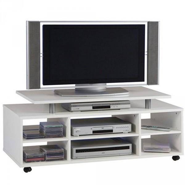 TV Lowboard Cato Weiß