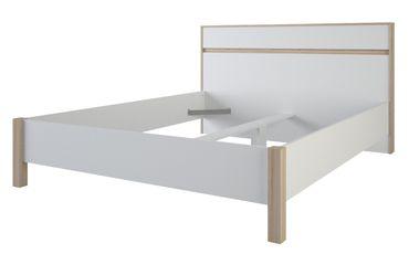 Jugendbett Keno 160*200 cm weiß / grau