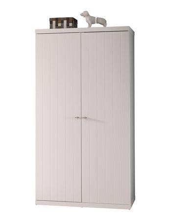 Kleiderschrank Romy weiß 2 Türen B 110 cm