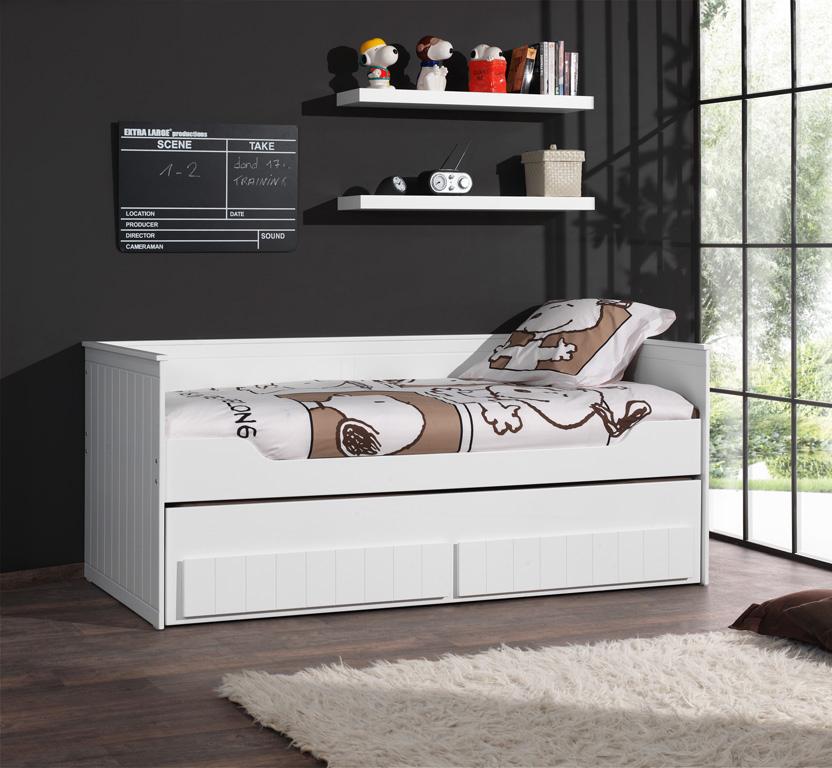 Funktionsbett Romy 90*200 cm Weiß