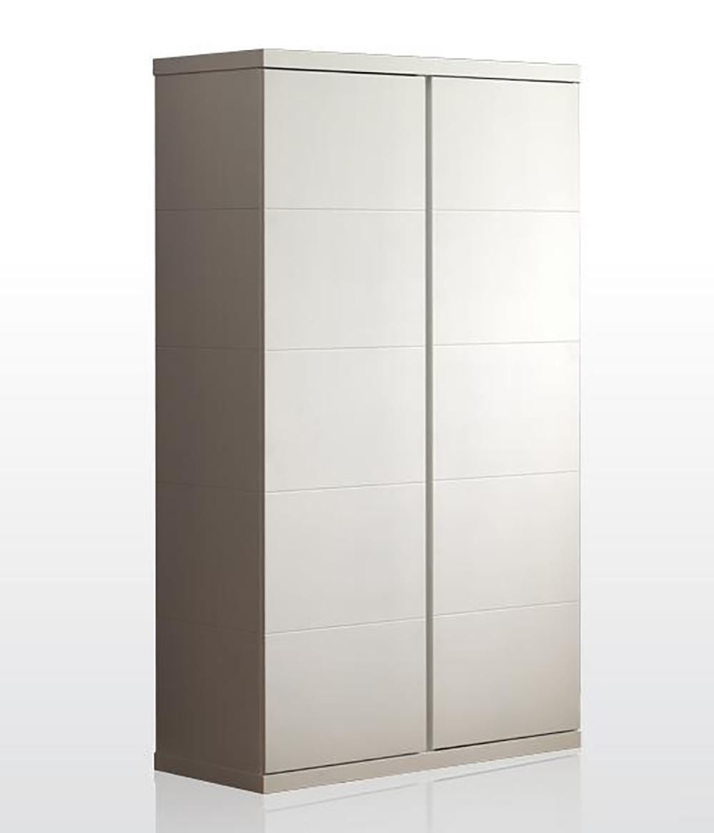 Kleiderschrank Mina weiß 2 Türen B 110 cm