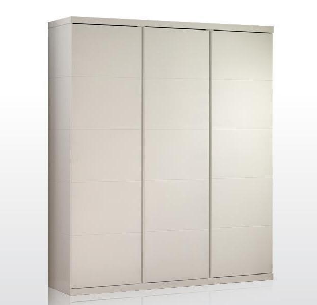 Kleiderschrank Mina weiß 3 Türen B 166 cm