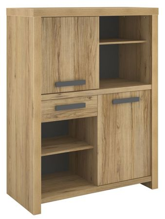 Highboard Lood 5 Parisot 2-türig beige