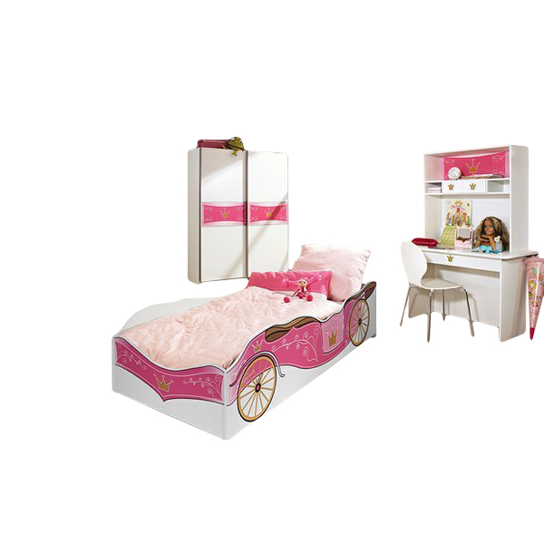 kinderzimmer zoe2 4 teilig wei pink kinder jugendzimmer. Black Bedroom Furniture Sets. Home Design Ideas