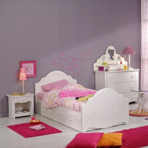 Kinder- und Jugendzimmer Alice 2 Parisot 6-tlg weiß