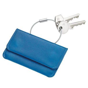 Kreditkartenetui und Schlüsselanhänger COLORI himmelblau/dunkelblau Troika