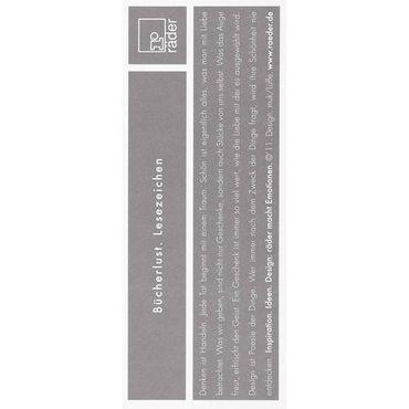 Lesezeichen KREIS Paper & Poetry Räder – Bild 2