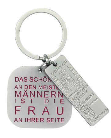 Schlüsselanhänger DAS SCHÖNSTE AN DEN MEISTEN MÄNNERN IST... Anhänger für Schlüssel Räder
