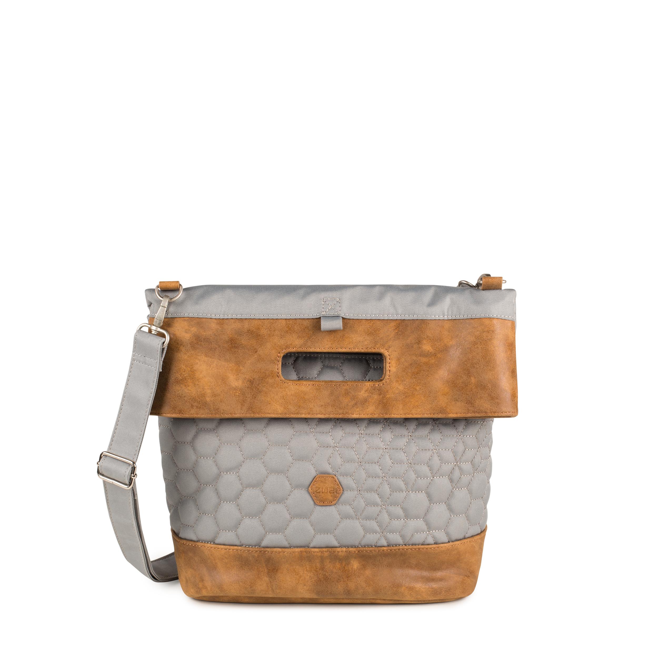 c82b6c3f6c3d68 ZWEI Taschen Rucksack FERDI FE16-z Damen Tasche mit Innentäschchen  Nylon-Kunstleder