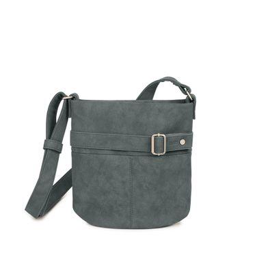 ZWEI Handtasche KARLA K10-z Damen Umhängetasche aus Kunstleder – Bild 4