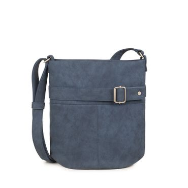 ZWEI Handtasche KARLA K12-z Damen Umhängetasche mit Innentäschchen aus Kunstleder – Bild 1