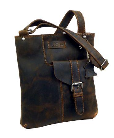 Cross-Casualbag Leder Handtasche old-school vintage unisex LANDLEDER