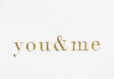Halskette Souvenir von mir YOU & ME rosé – Bild 2