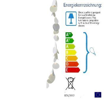 Mondlichter Kette mit LED's mit Timer, 110 cm, Räder Design – Bild 1