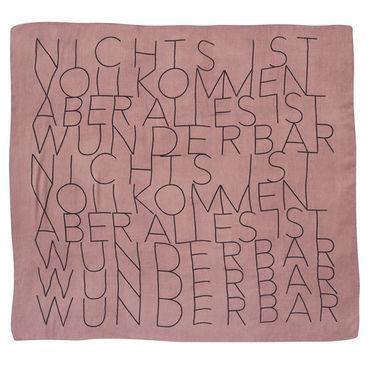 """Wintertuch Halstuch """"Alles ist wunderbar"""" - Räder Design  – Bild 1"""