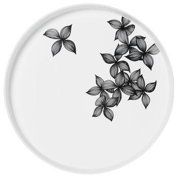 """Nigra Blanka Schale """"Blüten"""" groß - Räder Design"""