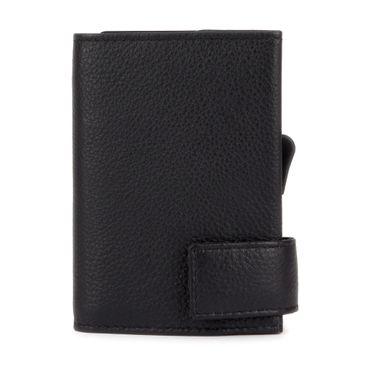 Kartenetui mit Ausleseschutz inkl. Geldbörse Leder (Variante Reißverschluss) - SecWal  – Bild 1
