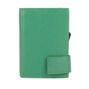 Kartenetui mit Ausleseschutz inkl. Geldbörse Leder (Variante Druckknopf) - SecWal  – Bild 7