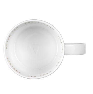 "Breakfast Kaffeetasse Porzellan ""Guten Tag Buongiorno Buenos Dias"" - Räder Design  – Bild 2"