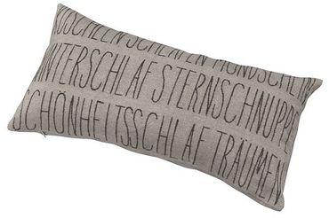 """Kissen mit Füllung """"Kuscheln"""" 30x60cm - Räder Design"""