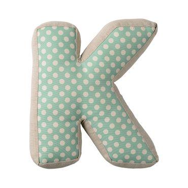 Kissen Cushion Dekokissen Buchstabe K - Bloomingville