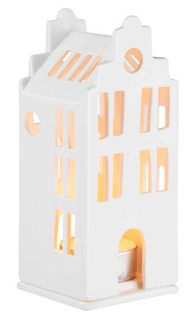 "Mini Lichthaus ""Grachtenhaus"" 6x6x13,5cm - Räder Design"