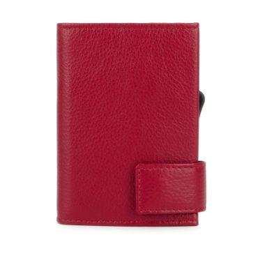 Kartenetui mit Ausleseschutz inkl. Geldbörse Leder (Variante Reißverschluss) - SecWal  – Bild 21