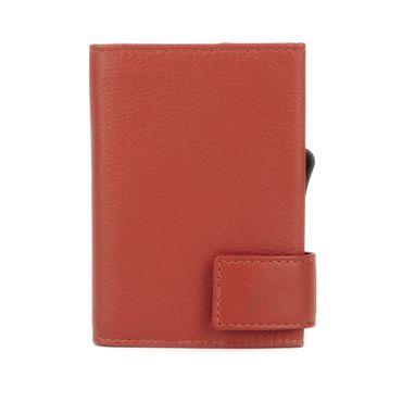 Kartenetui mit Ausleseschutz inkl. Geldbörse Leder (Variante Druckknopf) - SecWal  – Bild 15