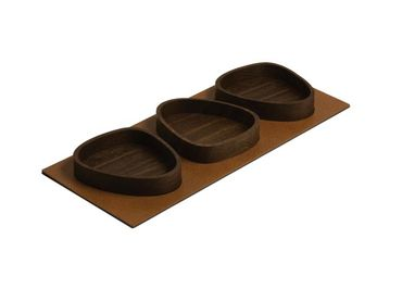 Servier Tablett Serving Tray Set Curve (44x18,5cm) Oak/Bull - LindDNA – Bild 4