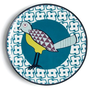 Teller Plate Birds of Paradise - Images d`Orient