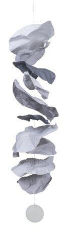 Papierkette groß/grau - Räder Design