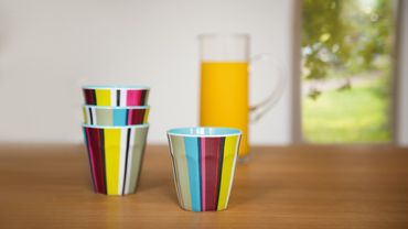 Picknick Becher Trinkbecher 4 Set in 4 Designs  - Remember – Bild 6