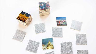 """Gedächnisskarten Gedächtnisspiel """"Deutschland Germany"""" in der Magnetbox 44 Kartenpaare - Remember  – Bild 4"""