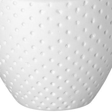 Blumenvasen Minivasen weiße Vasen Sortiment 12 Set - Räder Design – Bild 3