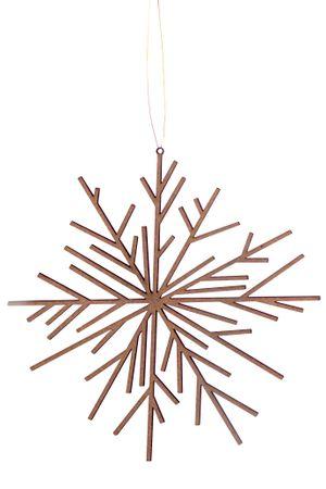 """Weihnachtsschmuck Holzornament """"Eis&Schnee"""" 15 cm - Räder Design"""