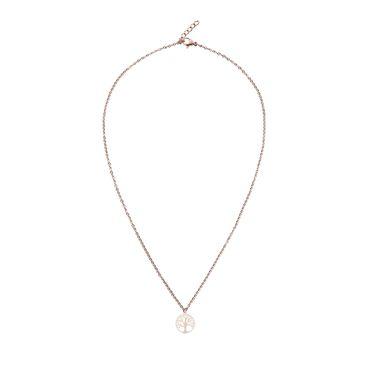 """Halskette Glückskettchen rosévergoldet """"Baum des Lebens"""" -  H.C.A. – Bild 1"""