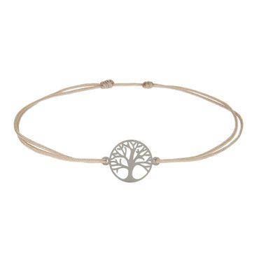 """Armband Glücksarmband Symbol """"Baum des Lebens"""" silber - H.C.A. – Bild 1"""