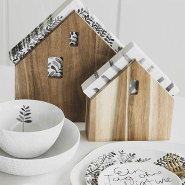 Serviettenhalter Serviettenspender Serviettenhäuschen klein - Räder Design Dining – Bild 1