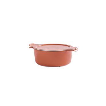 Kochtöpfe Kochtopf aus Porzellan mit Deckel 4,0l Ø 24 cm - in verschiedenen Farben - Eschenbach Cook & Serve – Bild 4