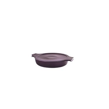 Kochgeschirr Schale aus Porzellan mit Deckel 1,20L Ø 24 cm - in verschiedenen Farben - Eschenbach Cook & Serve – Bild 2