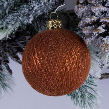 Lichterkette  Textil Weihnachtskugel - Cotton Ball Lights – Bild 13