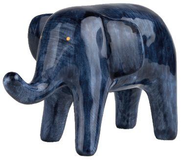 """HOME OFFICE Arbeitstiere """"Elefant"""" - Räder Design aus der Serie """"Tintenblau"""""""