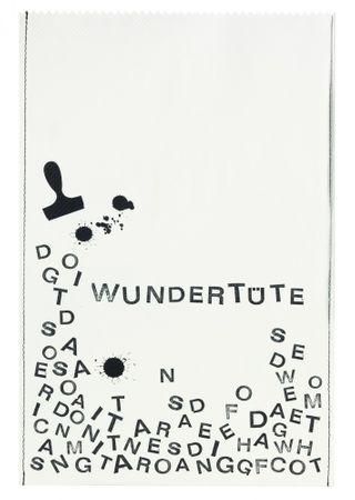 """Geschenktüten """"WUNDERTÜTE"""" 2er Set Paper & Poetry – Bild 1"""