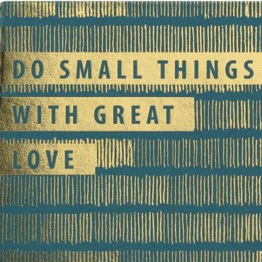 "Memos Notizblock Notizzettel ""DO SMALL THINGS WITH GREAT LOVE"" – Bild 2"