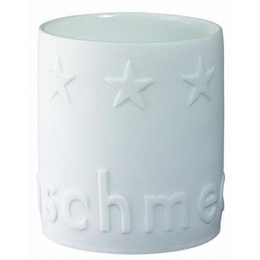 """Teelichthalter Porzellan """"Gourmet Licht"""" FEINSCHMECKER"""